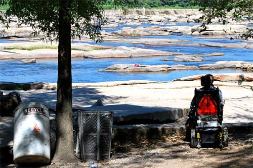Wheelchair access will be improved at Belle Isle