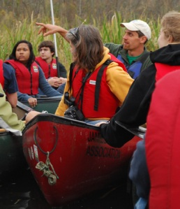 Gabe Silver, Environmental Educator with the James River Association