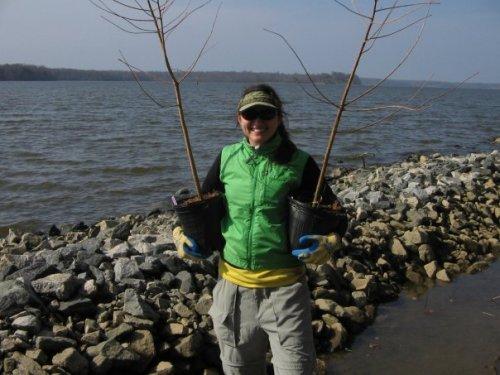 Jess Barton, Virginia Grassroots Coordinator with the Chesapeake Bay Foundation