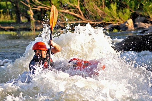 Photo by Rich Young. - What section of the James is your favorite for whitewater?