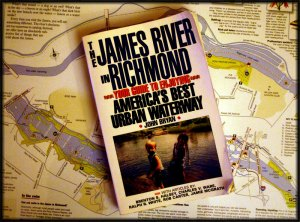 """The James River in Richmond NOW!"" is a forthcoming book by John Bryan and Phil Riggan"
