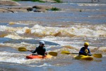 Many kayak, canoe, raft and inner tube trips are launched from Pony Pasture