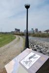 Richmond Slave Trail marker: Creole Revolt